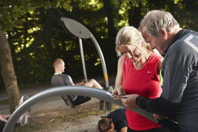 Abnehmen mit Outdoor Fitness